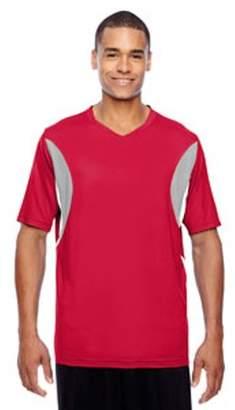 Team 365 Men's Short-Sleeve Athletic V-Neck Tournament Jersey TT10