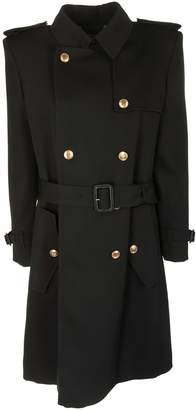 Givenchy Double Breasted Military Trench