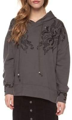 Dex Bead Embroidery Hoodie