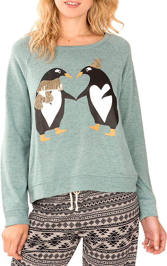 Blue Penguin Hacci Pullover