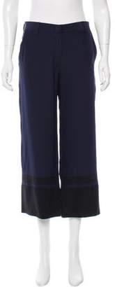 Jenni Kayne Silk Colorblock Culottes