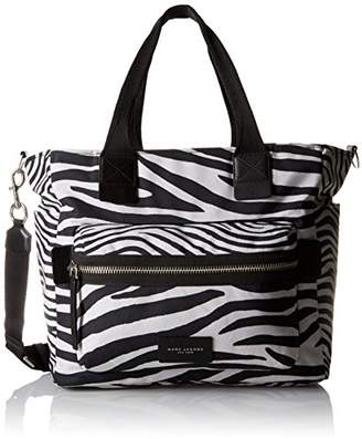 Marc Jacobs Zebra Printed Biker Babybag