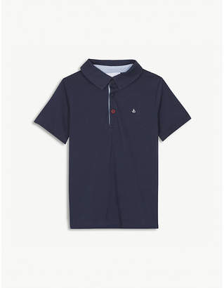 The Little White Company Jersey polo shirt and shorts set 1-6 years