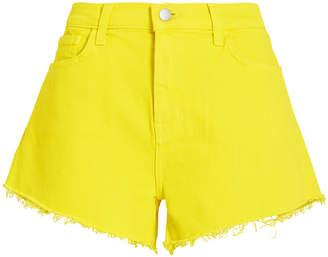 L'Agence Ryland Denim Cut-Off Shorts