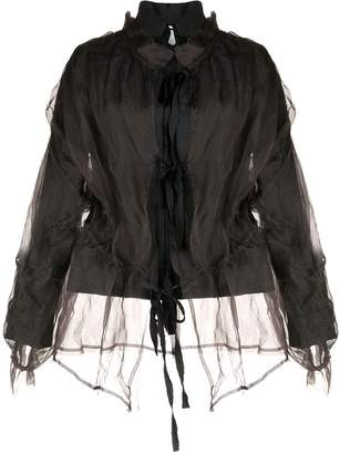PHAEDO STUDIOS layered design fitted jacket