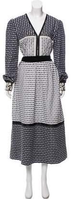 Bohemia Alix of Coco Embroidered Maxi Dress