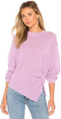 Mason by Michelle Mason Long Sleeve Twist Sweater