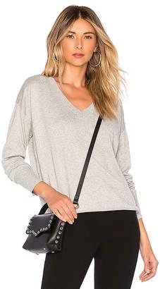 Bobi Cashmere V Neck Sweater