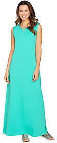 Denim & Co. Regular Sleeveless Perfect JerseyMaxi Dress