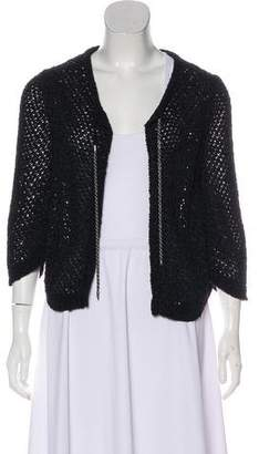 Chanel Open Knit Cardigan