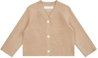 Burberry Ribbed Knit Cardigan