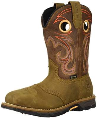 "Irish Setter Work Women's Marshall Waterproof Steel Toe 9"" Pull On Boot"