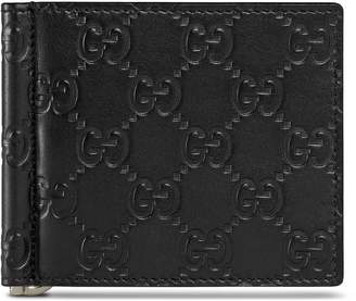 736cedf8b452 Gucci Signature money clip wallet