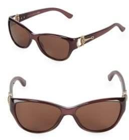 Gucci Tropical Cat-Eye Sunglasses