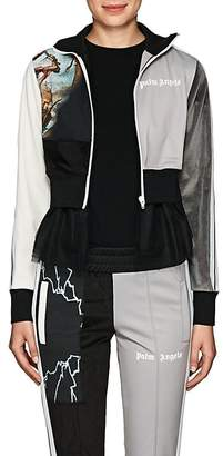 Palm Angels Women's Tulle-Trimmed Track Jacket