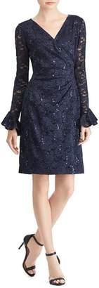 Ralph Lauren Sequin Lace Dress