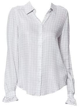 6da0dd3fce79e4 Paige Women's Mya Ruffle Cuff Button-Down Shirt