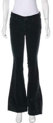 J Brand Corduroy Low-Rise Pants