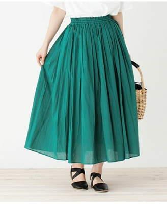 3can4on (サンカンシオン) - 3can4on(Ladies) ボイルカラーギャザースカート サンカンシオン スカート