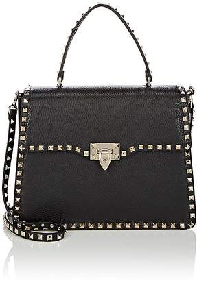 Valentino Women's Rockstud Leather Single-Handle Satchel