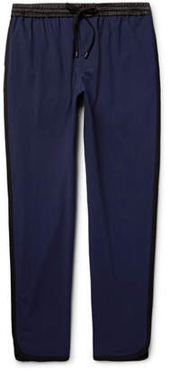 Public School Ilyn Tapered Striped Stretch-Wool Trousers