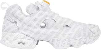 Vetements Reebok Logo Instapump Fury Sneakers