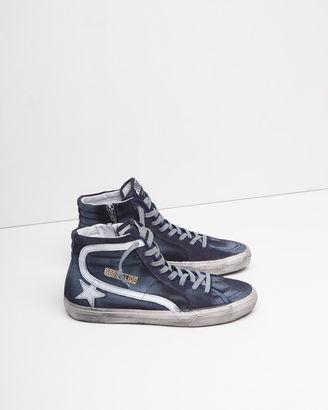 Golden Goose Slide Sneakers $498 thestylecure.com
