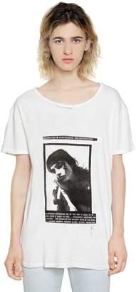 Enfants Riches Deprimes Day Dream Print Cotton Jersey T-Shirt