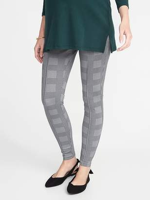 Old Navy Maternity Full-Panel Ponte-Knit Stevie Leggings