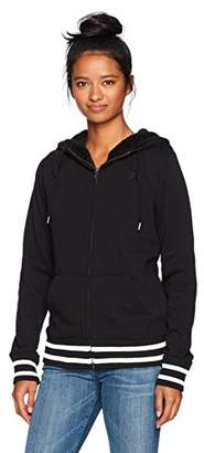 Volcom Women's Good One Zip Up Fleece Sweatshirt