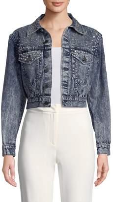 Alice + Olivia Women's Chloe Cotton Jacket