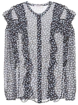 Schumacher Dorothee Poetic Rebel printed silk blouse