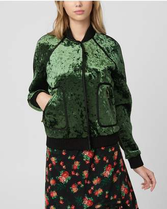 Juicy Couture Bonded Crushed Velvet Jacket