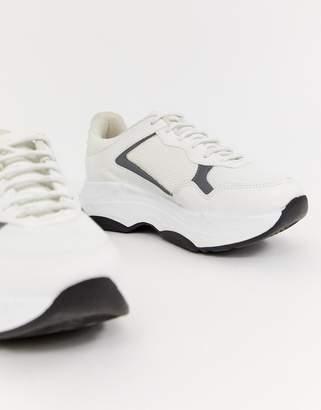 Asos DESIGN Danger chunky reflective sneakers