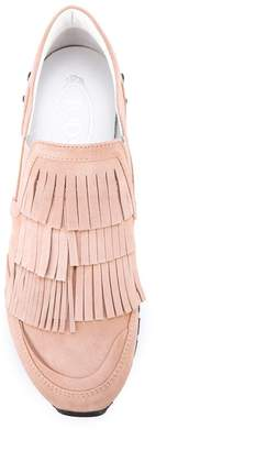 Tod's fringed sneakers