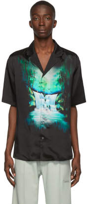 Off-White Off White Black Waterfall Holiday Shirt