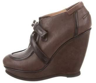 Balenciaga Wedge Ankle Boots w/ Tags