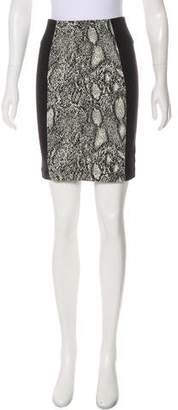 Rebecca Taylor tPrinted Knee-Length Skirt