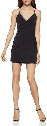 BCBGeneration Tie-Front Crossover Dress