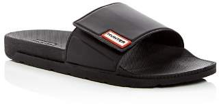 Hunter Women's Original Adjustable Pool Slide Sandals