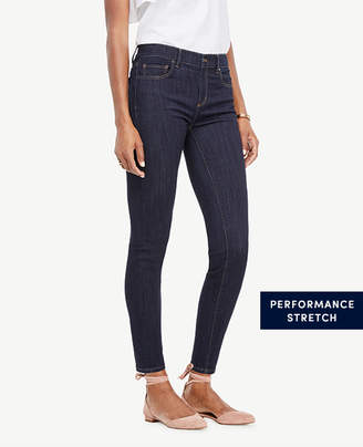 Ann Taylor Tall Modern All Day Skinny Jeans in Evening Sea Wash