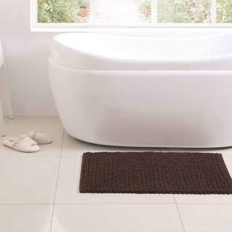 "VCNY Home Barron Cotton Chenille Bath Rug, 1'5"" x 2'"