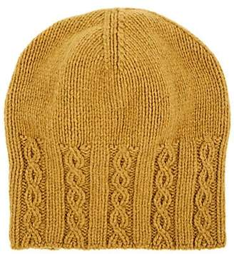 Inis Meain INIS MEAIN MEN'S SLOUCHY MERINO WOOL HAT - YELLOW