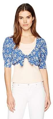 For Love & Lemons Women's Zamira Floral Crop Top