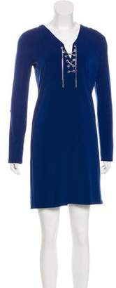 Michael Kors Long Sleeve Mini Dress