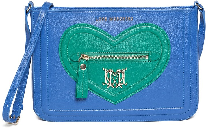 Love Moschino LOVE Moschino Heart Crossbody