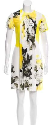 Christopher Kane Silk Printed Dress