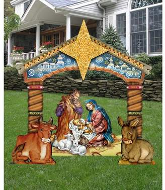 The Holiday Aisle Nativity Lawn Art