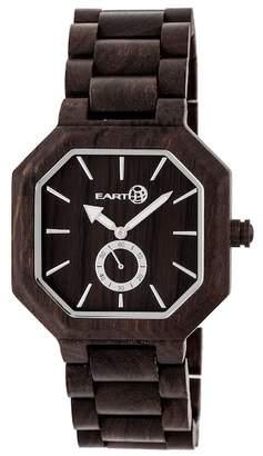 Earth Wood Men's Acadia Bracelet Watch, 43mm