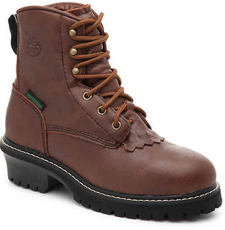 Georgia Boot Waterproof Logger Toddler & Youth Boot - Boy's